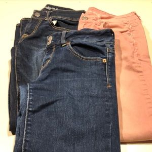 American eagle jeans lot of 3 size 4
